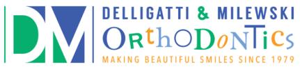 DelliGatti and Milewski Orthodontic Group Logo