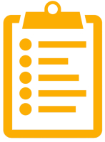 Orange Clipboard